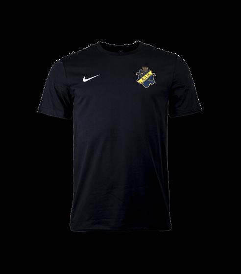 Nike t-shirt svart färgad sköld
