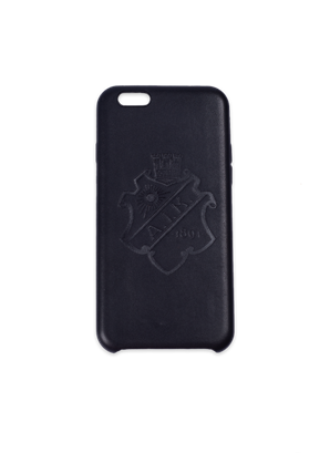 Iphone 6 skal Black on Black PU-läder