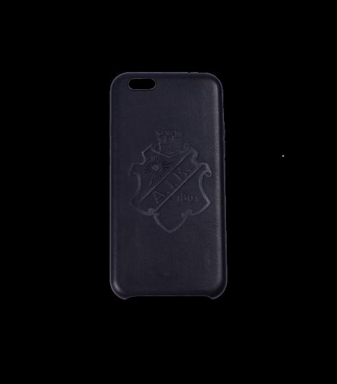 Iphone 7/8 skal Black on Black PU-läder