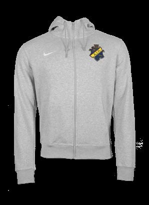 Nike ziphood grå  färgad sköld