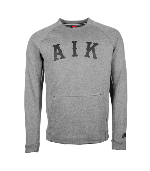 Nike sweatshirt techfleece grå AIK