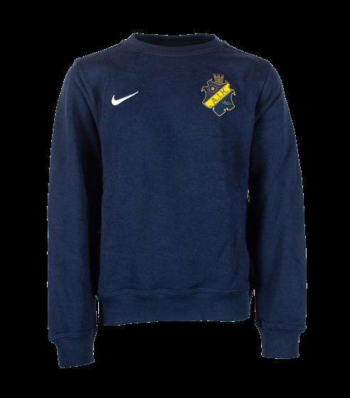 Nike sweatshirt marin färgad sköld barn