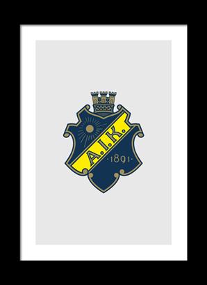 Poster AIK sköld