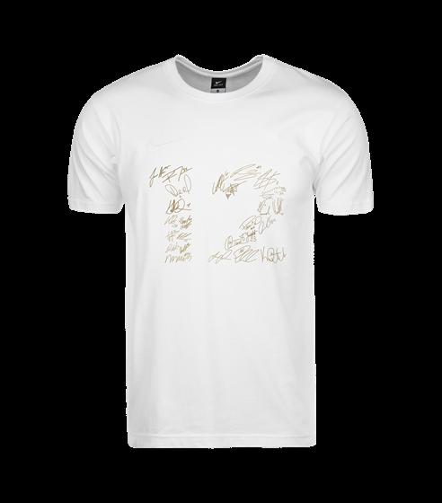 Nike 12 t-shirt vit