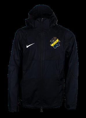 Nike acdmy vind/regnjacka Barn svart  färgad sköld