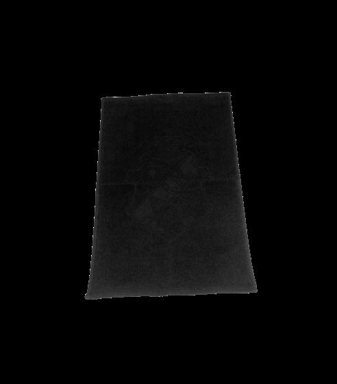 Handduk 4-pack svart Sköld 30x50