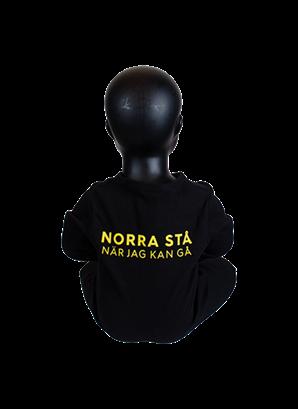 Pyjamas svart norra stå