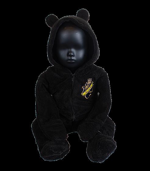 Teddy overall svart sköld