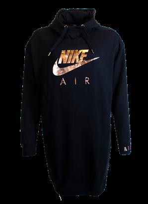 Nike sweatshirt klänning svart AIK