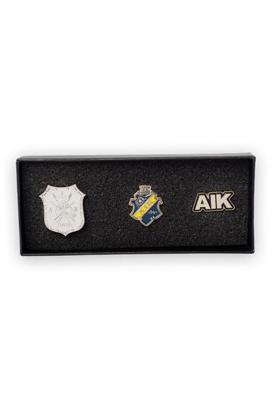 AIK Shop - Presentbox pin - Officiell souvenirbutik ede35296adf0e