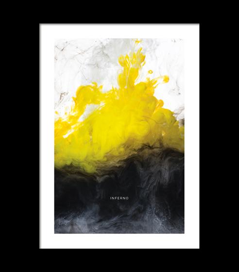 Poster Inferno- vit kant
