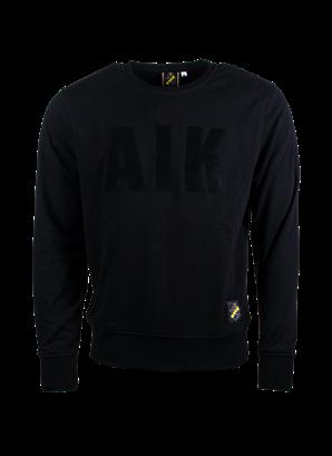 Sweatshirt svart AIK frotté