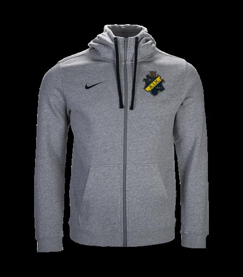 Nike ssw ziphood grå sköld