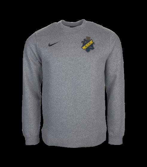 Nike sweatshirt grå sköld