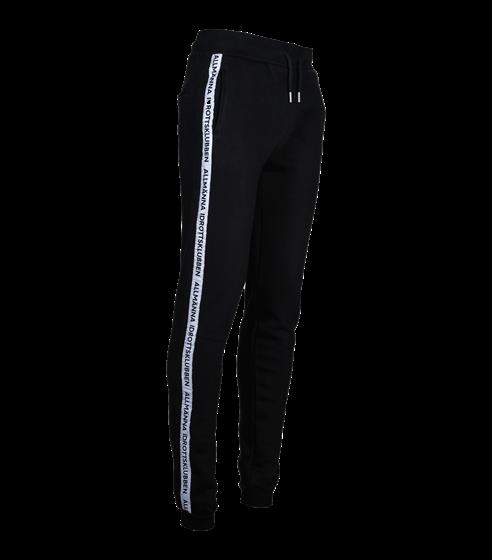 Sweatpants svart allmänna stripe
