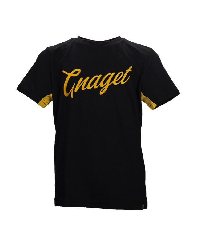 T shirt svart gnaget skrivstil