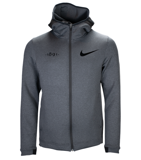 Nike black edt. 1891 therma flex zip