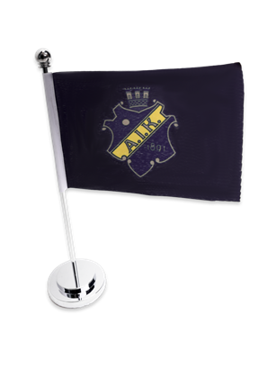 Bordsflagga sköld