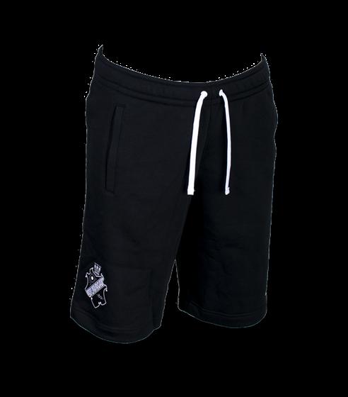 Nike sweatshorts svart/vit sköld