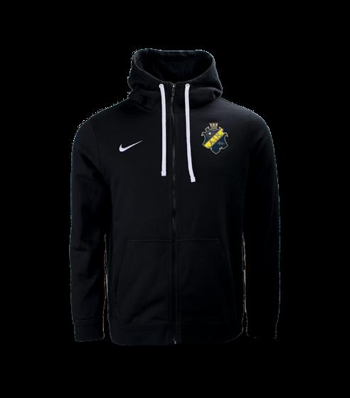 Nike ziphood svart sköld