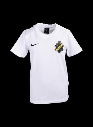 Nike T-shirt vit sköld barn