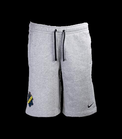 Nike sweatshorts grå sköld