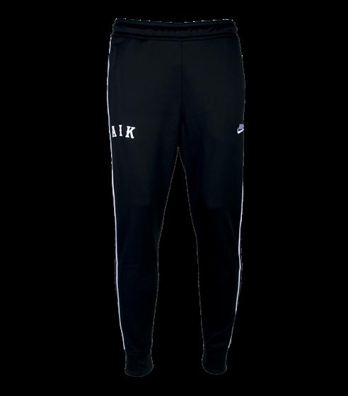 Nike svart träningsbyxa AIK letters