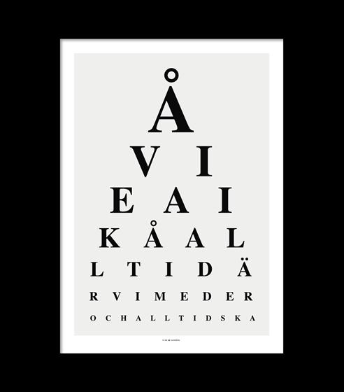 Poster Lästavla