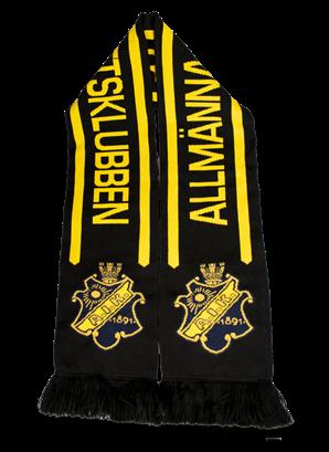 Halsduk svart gul allmänna