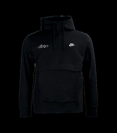 Nike 1891 halv zip hood magficka