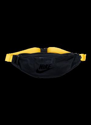 Nike svart gul midjeväska AIK