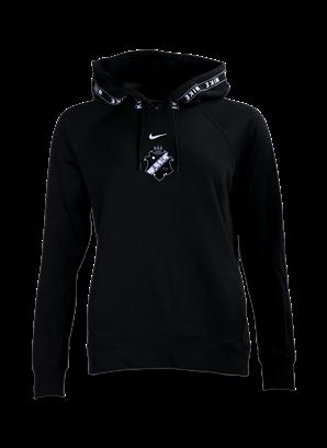 Nike hood svart vit sköld dam