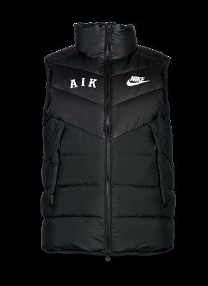 Nike svart väst AIK letters