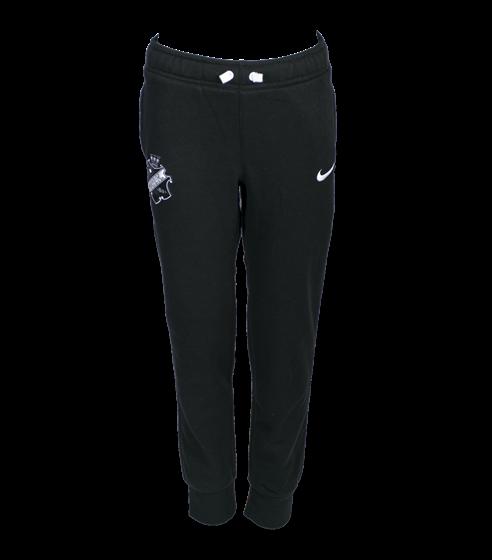 Nike sweatpants svart/vit sköld barn