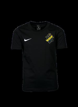 Nike svart t-shirt färgad sköld
