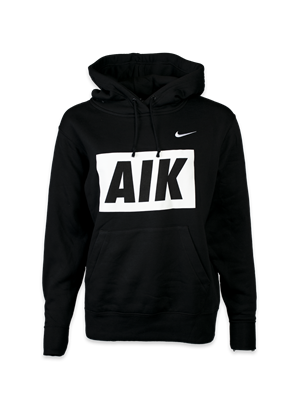 Nike hood svart AIK dam