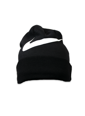 Nike svart mössa swoosh