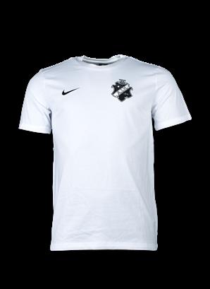 Nike T-shirt vit svart sköld