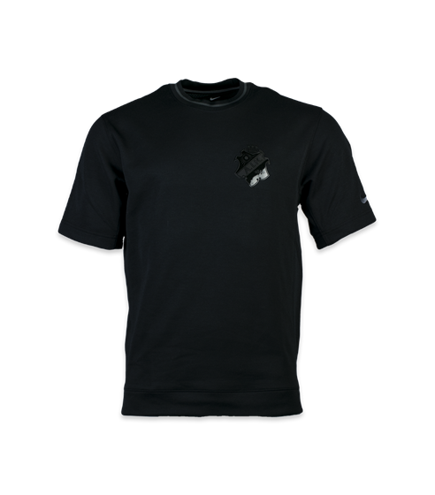 Nike dry top ss hoopxfly svart sköld