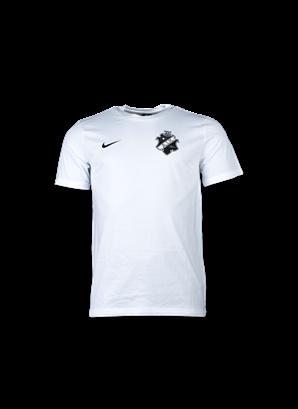 Nike t-shirt vit svart sköld barn