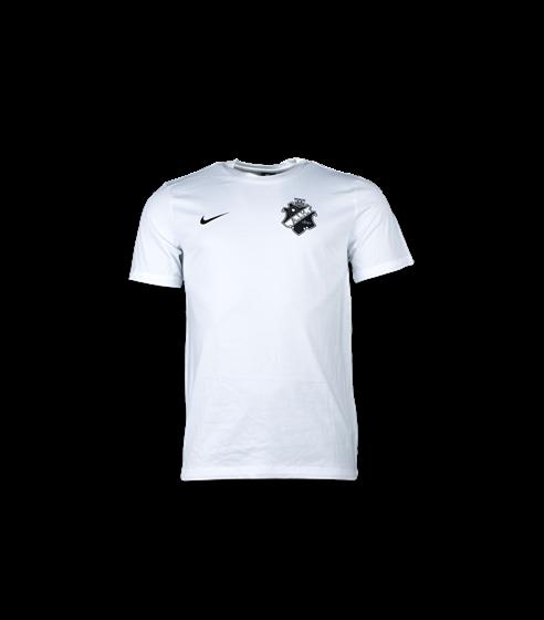 Nike vit t-shirt svart/vit sköld