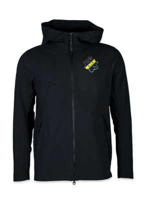Nike ziphood tech pack svart färgad sköld
