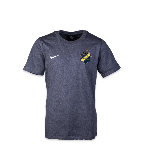 Nike grå t-shirt färgad sköld