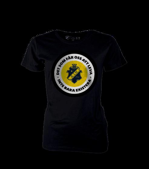 T-shirt inte bara existera Dam