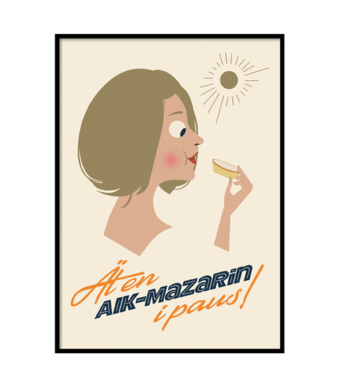 Poster Mazarin ljus
