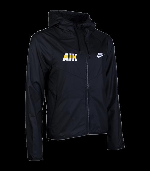 Nike vindjacka svart AIK font dam