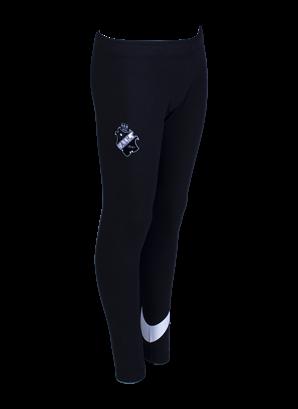 Nike Barn träningstights svart/vit sköld
