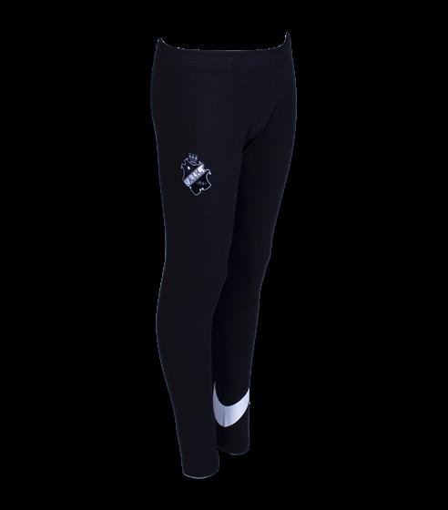 Nike svarta träningstights Svart/vit Sköld  Barn