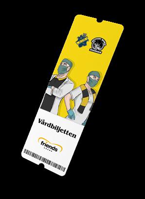 Matchbiljett vårdpersonal