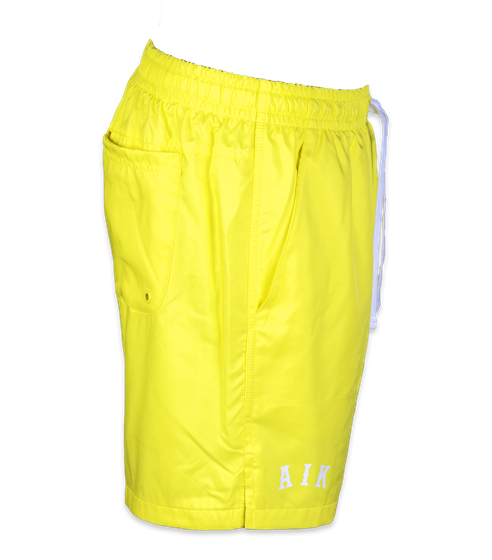 Nike gula badshorts AIK Letters